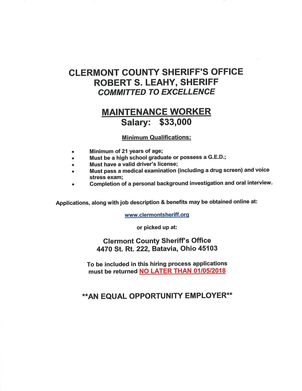 office worker job description