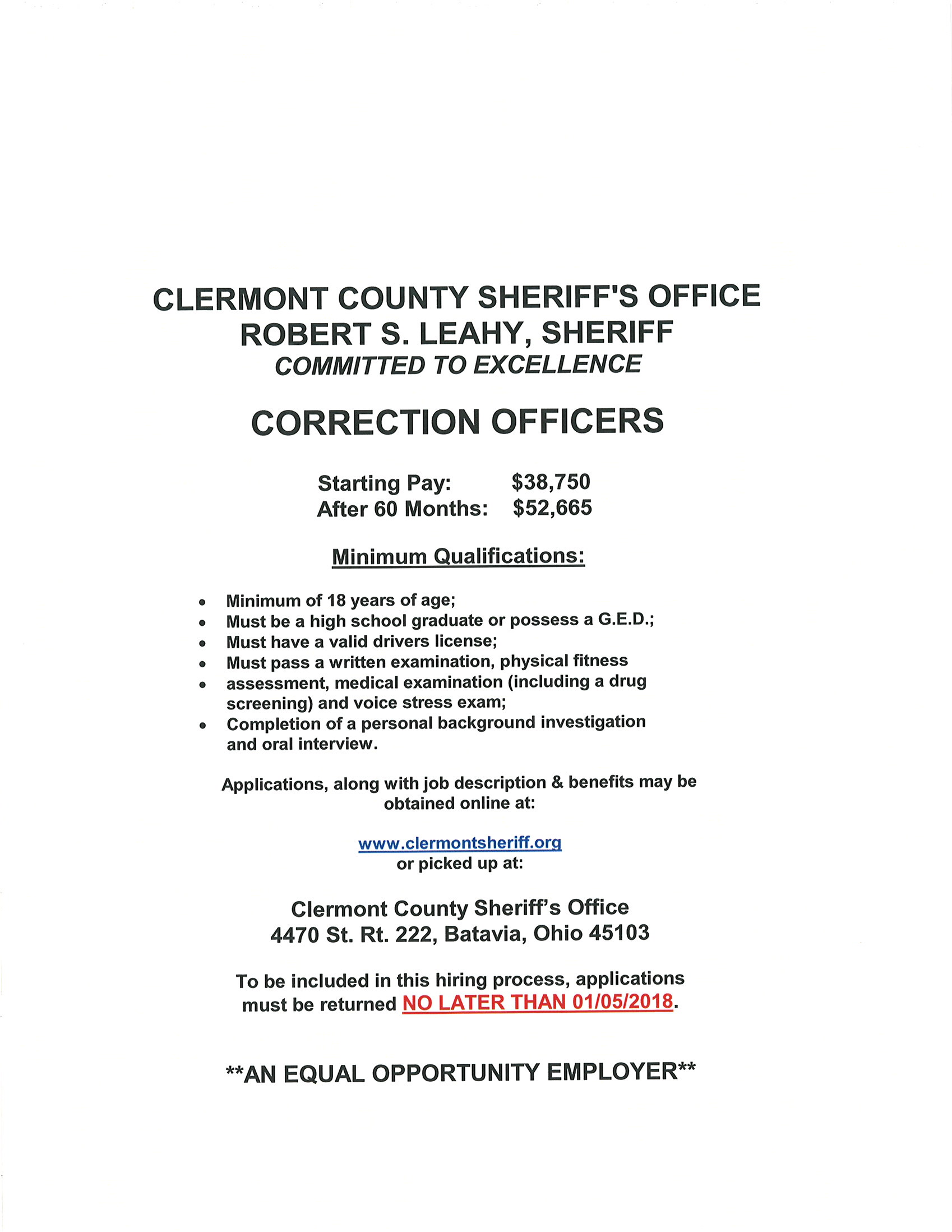 Clermont County Sheriff